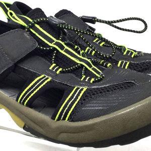 Teva Women Athletic Shoes Sz Us 5 Black Green